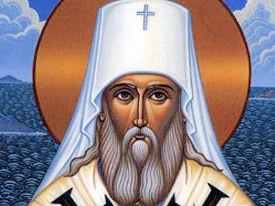 Film on St. Innocent of Alaska finishing work in Irkutsk