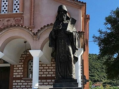 В Греции освятят памятник преподобному Силуану Афонскому, подаренный Россией / Православие.Ru