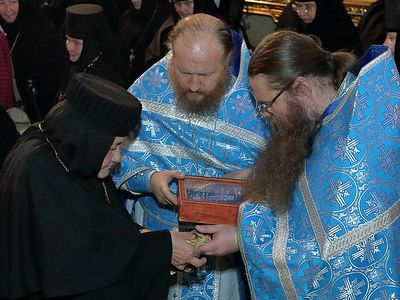 Relics of St. Justin Popović gifted to Trinity-St. Sergius Lavra