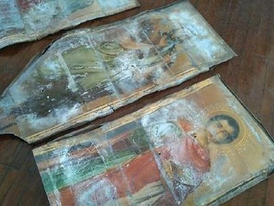 Ancient icons stolen over a century ago found during school repairs in Kuban