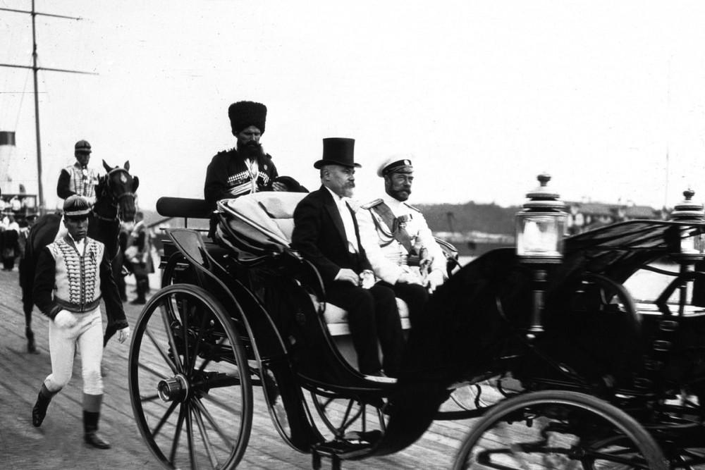 Официальный визит президента Франции Раймона Пуанкаре в Россию. Июль 1914 г.