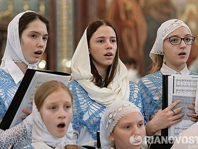 В Москве пройдет VI Международный фестиваль детско-юношеских и молодежных хоров «Пою Богу моему дондеже есмь»