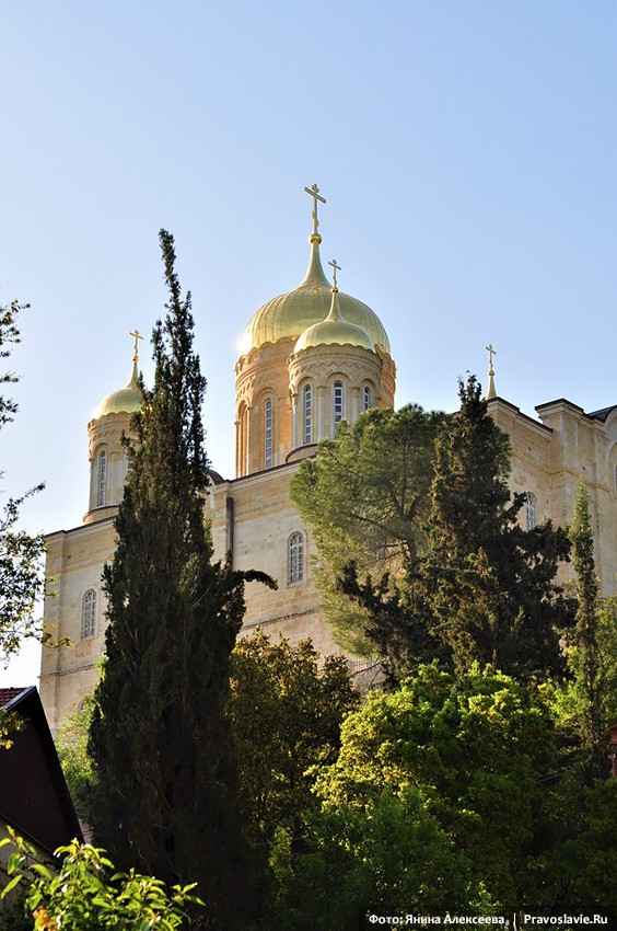 Gornensky Convent in Ein-Karem. Church of All Saints of the Russian Land.
