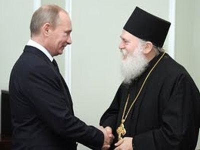 Abbot Ephraim of Vatopedi meets with President Putin