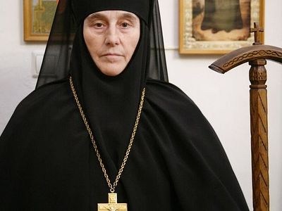 Abbess Barbara of St. Theodore Monastery reposes in the Lord