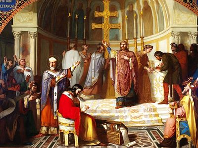 Церковь Вестготского королевства в VII столетии