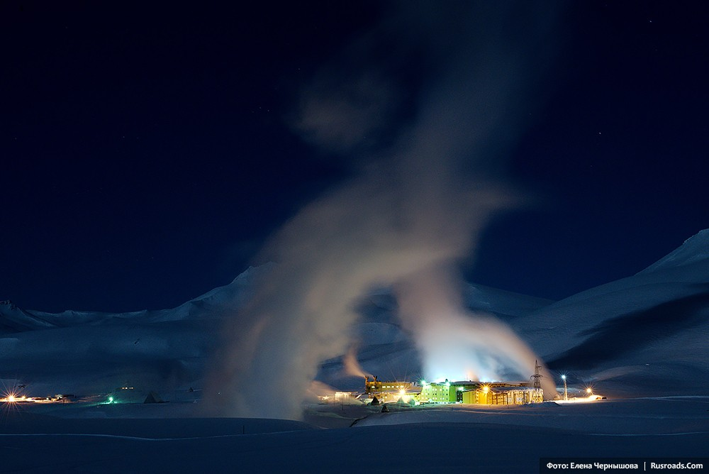 Life on a volcano. Mutnovskaya power station