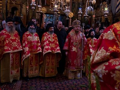 Dochariou Monastery on Mt. Athos celebrates 20-hour patronal feast services