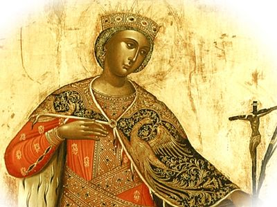 """No Saint was loved in the West more than St. Catherine"""
