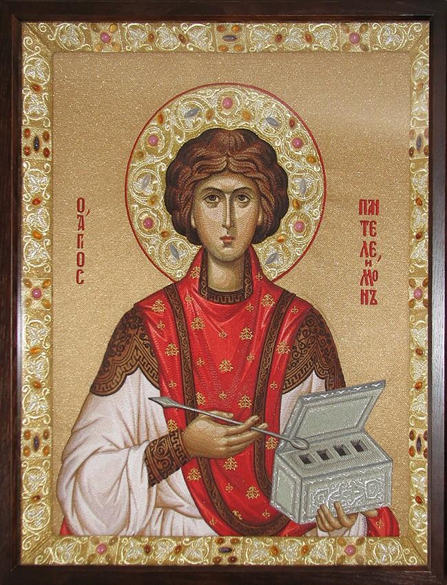 Icon of the Great Martyr Panteleimon