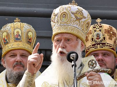 Leader of Ukrainian schismatics Philaret reportedly asks forgiveness from Russian Orthodox Church