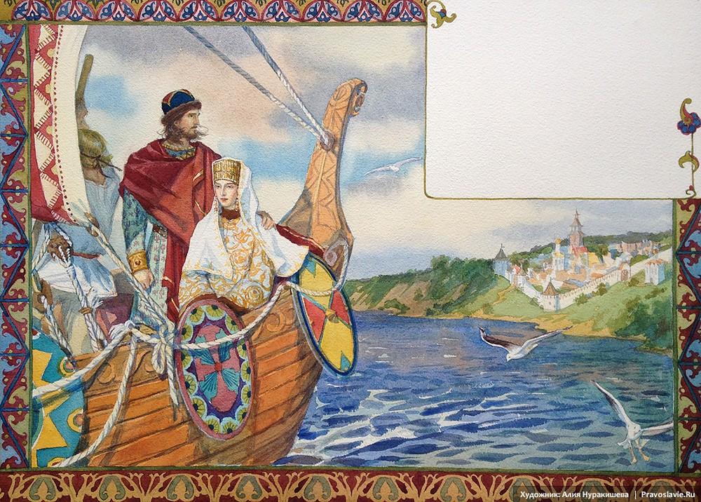 Князь Петр оставляет Муром