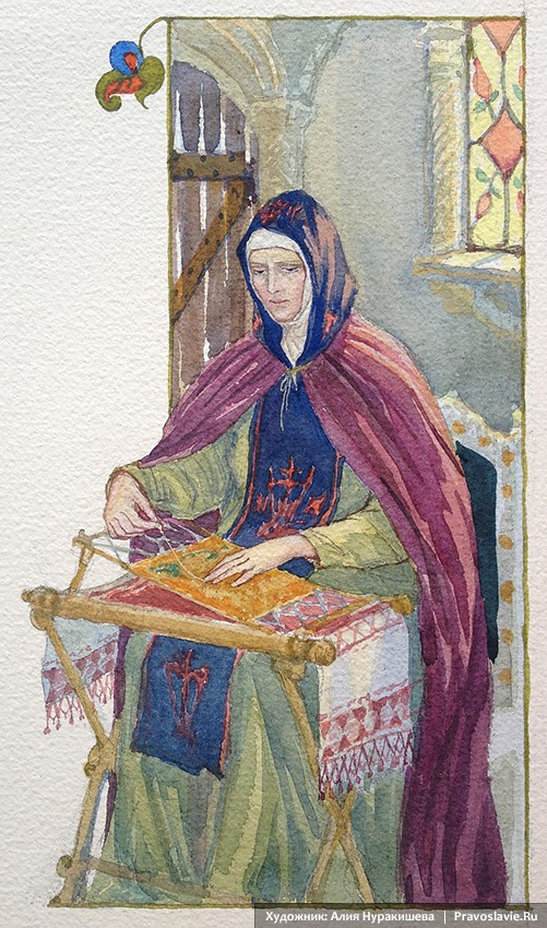 Княгиня Феврония, в иночестве Ефросинья