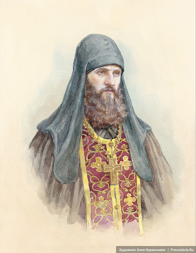 Портрет иеромонаха Романа (Матюшина)