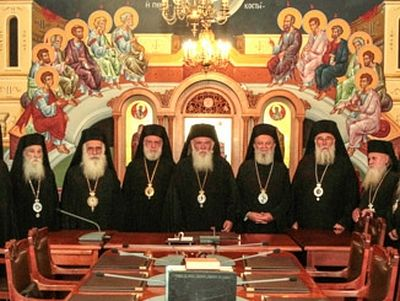 Greek Synod says Bulgarians acting against holy canons in case of Macedonian Church