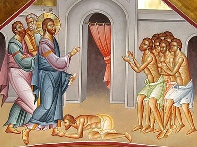 The Healing of the Samaritan Leper: Homily for the 12th Sunday of Luke in the Orthodox Church