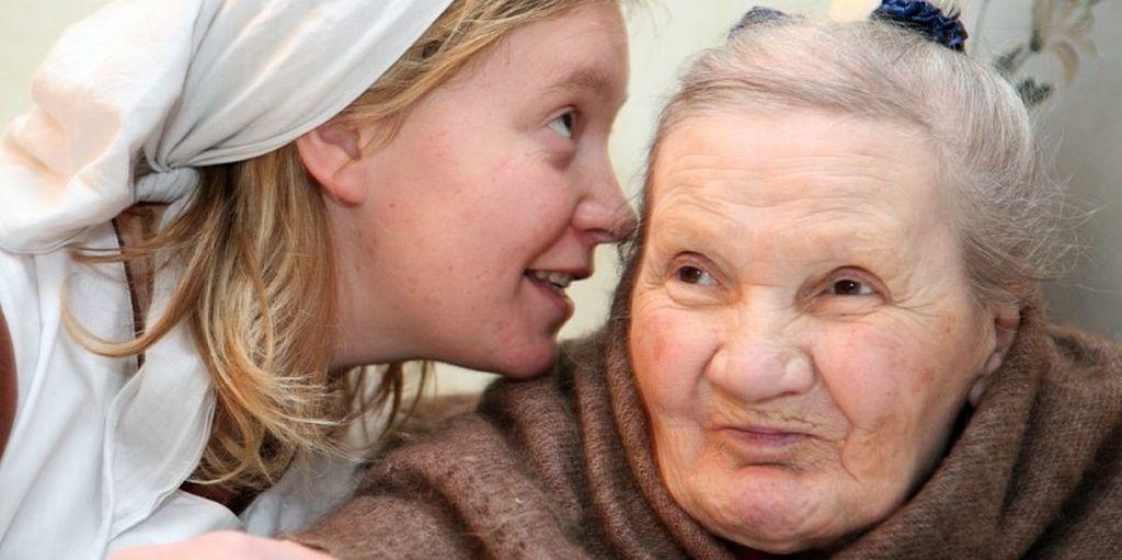 Место, где обнимают стариков. Ольга Иорданская / Православие.Ru