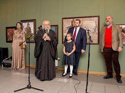 2,4 миллиона рублей собрали на благотворительной выставке работ Сергея Андрияки