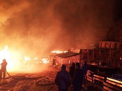 Crimean Skete of St. Anastasia suffers severe fire damage (+ VIDEO)