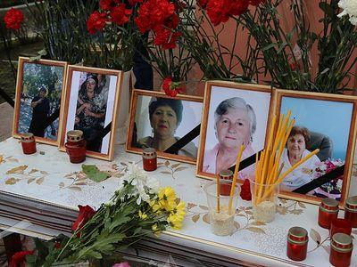 Lyudmila, Vera, Nadezhda, Irina, Vera