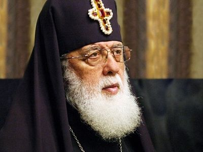 Highly-revered Patriarch of Georgia strongly opposes Constantinople intervention in Ukraine