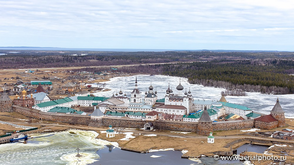 Спасо-Преображенский Соловецкий монастырь. Остров Большой Соловецкий