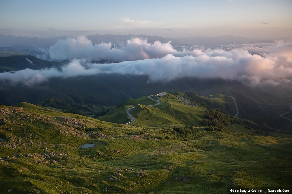 Gumbashi Pass, Karachaevo-Cherkessa, Caucasus Mountains