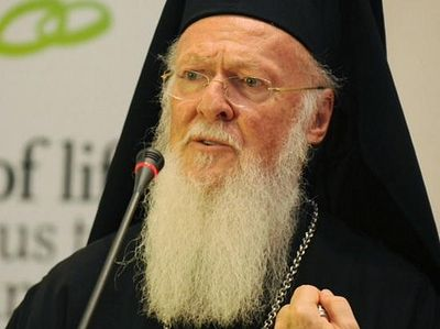 Pat. Bartholomew condemns actions of Bulgarian Church in regard to Macedonian schismatics, emphasizes Constantinople as Mother Church for Balkan peoples