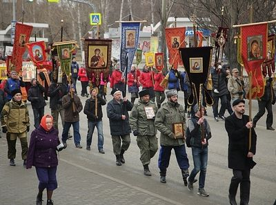 1,500+ process in Ekaterinburg for 100th anniversary of arrival of Royal Martyrs