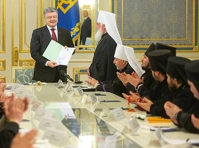 Ukrainian authorities pressuring canonical clergy to back Poroshenko's autocephaly bid