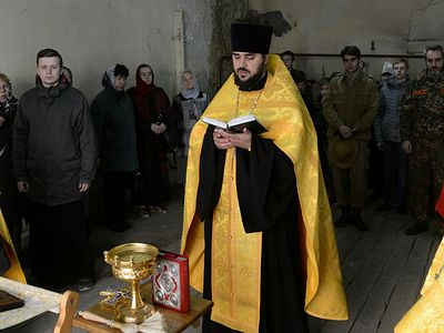 First service in 100 years celebrated in Nizhny Novgorod Kremlin church