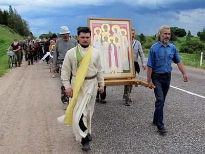 435-mile procession in honor of Royal Martyrs begins in Tobolsk