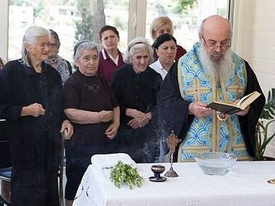GOOD DEED: Albanian Church blesses newly-opened center for elderly