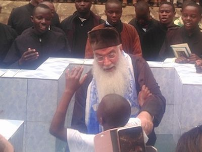 Mass Baptism of school students celebrated in Kenya