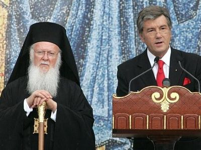 Former Ukrainian President Yushchenko promises to help create Local Ukrainian Church