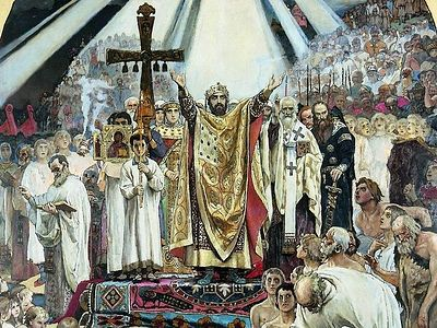 «Нельзя рядом с образом святого князя Владимира устанавливать идолов земных интересов»