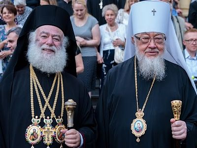 Patriarch of Alexandria begins 5-day visit to Polish Orthodox Church