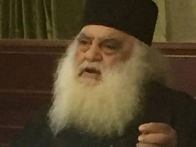 Athonite abbot: Church in Ukraine needs to maintain unity with Russian Church