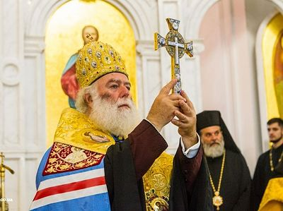 Patriarch of Alexandria visits Ukraine in show of solidarity with canonical Church (+ VIDEO)