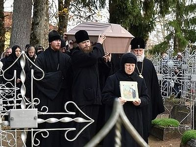 Relics of St. Ekaterina of Pukhtitsa solemnly uncovered