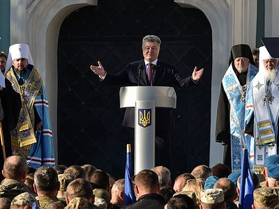 Poroshenko to meet with bishops of canonical Church on Tuesday