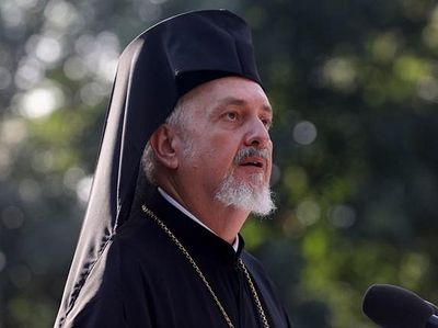 Constantinople hierarch arrives in Kiev to prepare for unification council
