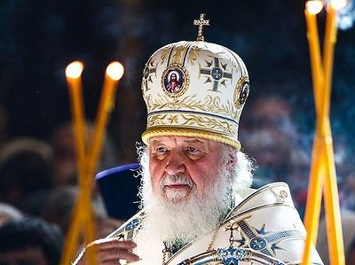 Pat. Kirill fears bloody conflicts after law demanding that Ukrainian Church change its name