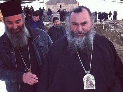 Georgian Metropolitan: We can't serve with anathematized and self-proclaimed bishops