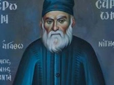 Materials submitted for canonization of Abbot Vissarion of Agathonos Monastery