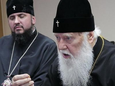 "Ukrainian parishes that switch are moving to the ""Kiev Patriarchate,"" not the new ""church"""