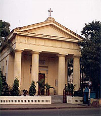 Holy Transfiguration church in Calcutta